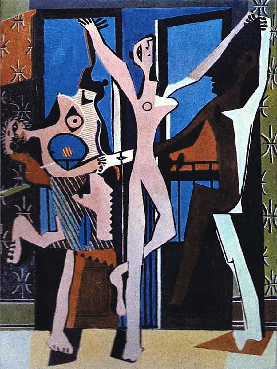 re ing three dancers artfronts picasso 3 dancers 300x400 pablo